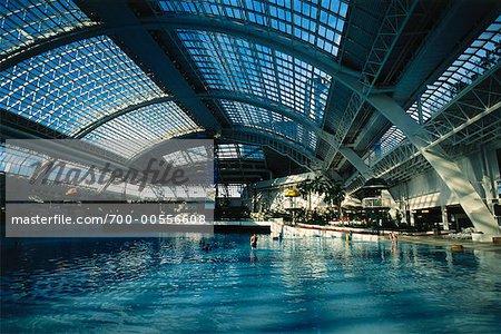 Swimming Pool in West Edmonton Mall, Edmonton, Alberta, Canada