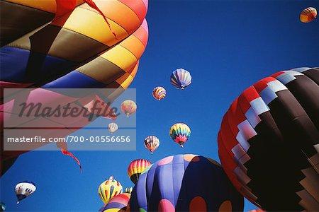 Hot Air Balloon Fiesta, Albuquerque, New Mexico, USA