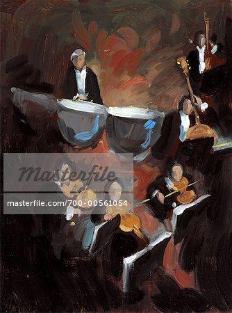 Illustration of Orchestra
