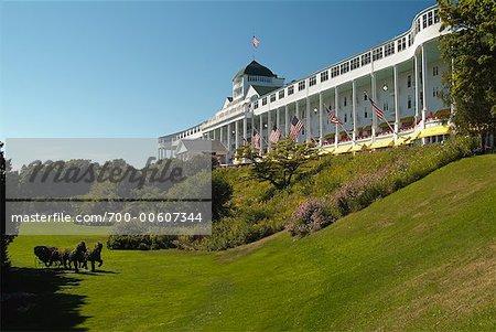 Grand Hotel, Mackinac Island, Michigan, USA