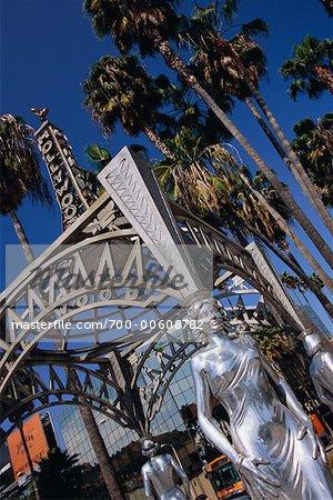 Hollywood Street Sign, Hollywood, California, USA