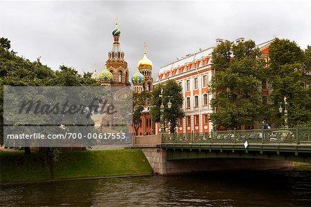 Saviour on the Spilt Blood, St Petersburg, Russia