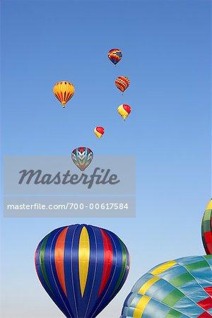 Hot Air Balloons, St Jean, Quebec, Canada
