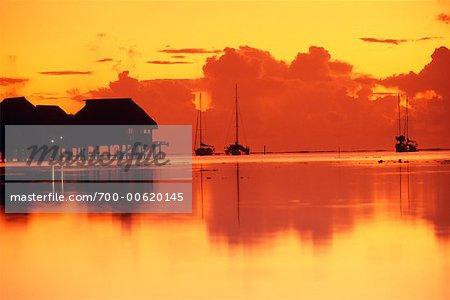 Bungalows at Sofitel Ia Ora Resort, Moorea, French Polynesia