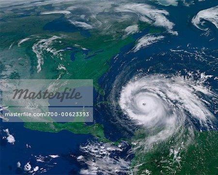 Hurricane Headed for North America