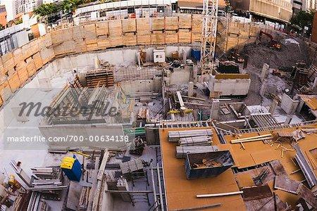 Construction Site, Toronto, Ontario, Canada