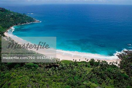 Tropical Beach, Seychelles, Africa