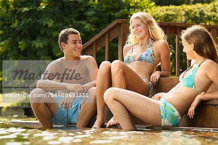 Teenagers on Deck