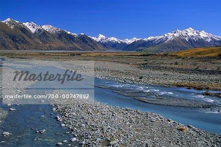 Rangitata Valley, New Zealand