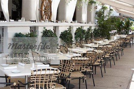 Restaurant Patio, Ocean Drive, South Miami Beach, Miami, Florida, USA
