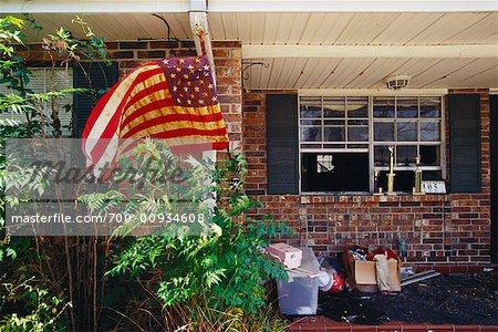 Hurricane Damage, New Orleans, USA