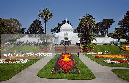 Botanical Garden, Golden Gate Park, San Francisco, California, USA   Stock  Photo