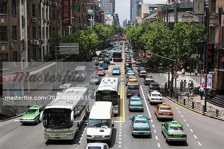 Street Scene, Shanghai, China