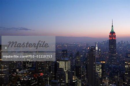New York City Skyline, New York, USA