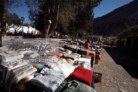 Artist Market in Purmamarca, Jujuy Province, Argentina