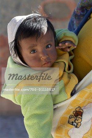 Portrait of Baby, Purmamarca, Jujuy Province, Argentina