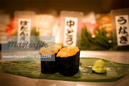 Still Life of Sushi