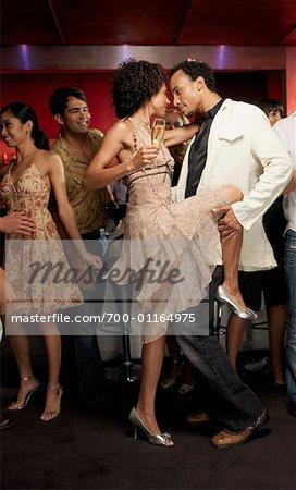 People Dancing at Night Club
