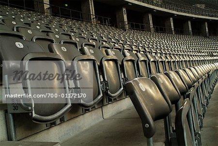 Stadium Seats, Berlin Olympic Stadium, Germany