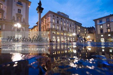 Piazza della Republica, Florence, Italy