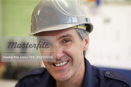 Portrait of Electrician
