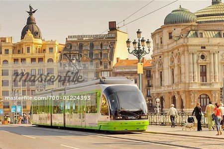 Streetcar, Bilbao, Spain