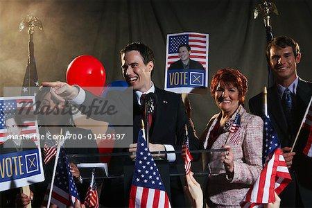 Portrait of Politicians