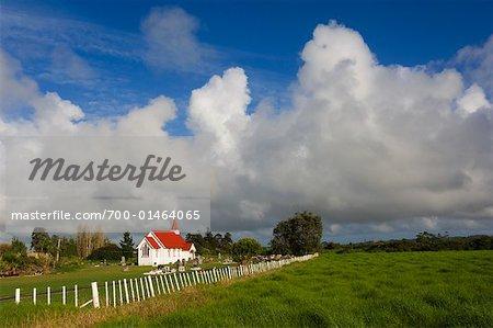 St Joseph Church, Awanui, Aupouri Peninsula, New Zealand