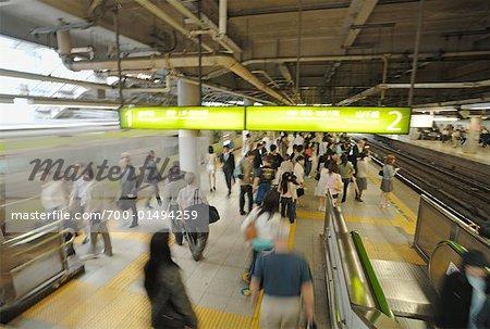 Train Station, Tokyo, Japan