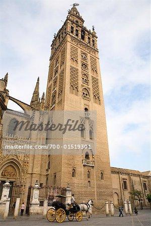 Giralda Tower, Seville Cathedral, Seville, Spain