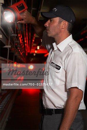Portrait of Security Guard
