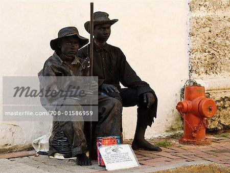 Street Entertainers, Cartagena, Columbia