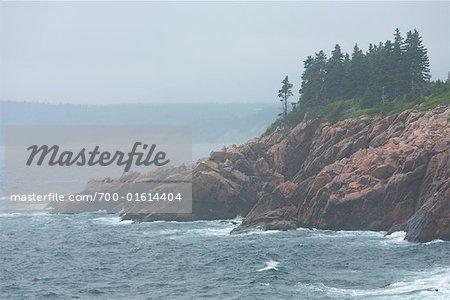 Rocky Point at Lakies Head Lookoff, Cape Breton, Nova Scotia Canada