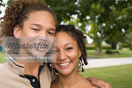 Portrait of Teenagers