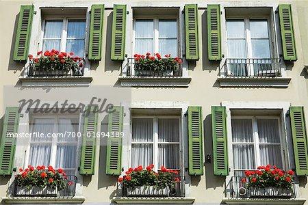 Exterior of Building, Bern, Switzerland