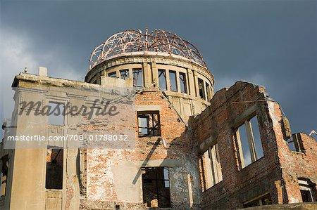 A-Bomb Dome in Hiroshima Peace Memorial Park, Hiroshima, Japan