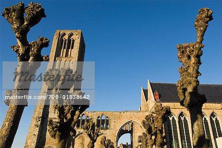 Church in Damme, West Flanders, Belgium