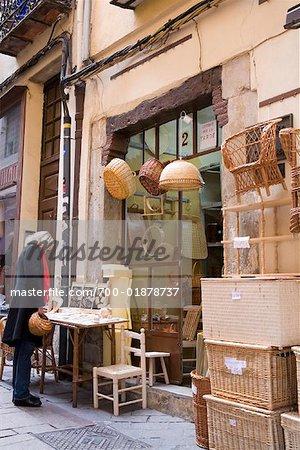 Woman Shopping, Burgos, Cathedral