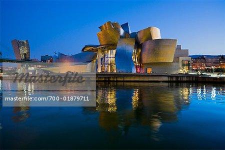Guggenheim Museum Bilbao, Bilbao, Basque Country, Spain