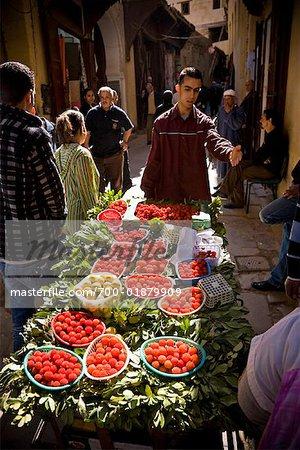 Street Vendor, Medina of Fez, Morocco