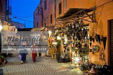 Medina of Marrakech, Morocco