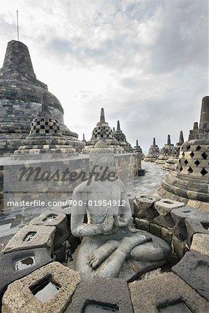 Borobudur Temple, Magelang, Kedu Plain, Central Java, Java, Indonesia