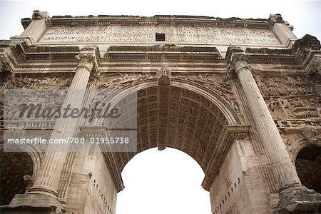 Triumphal Arch, Forum, Rome, Italy