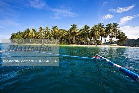 Island in Bungus Bay, Sumatra, Indonesia