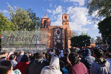 Church of San Juan de Dios, Procession During Holy Week, San Miguel de Allende, Guanajuato, Mexico
