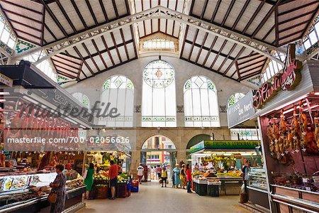 Central Market, Valencia, Spain