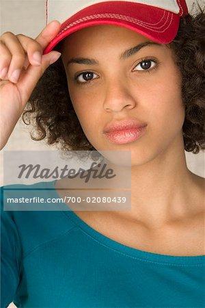 Portrait of Teenager