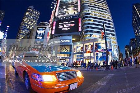 Eaton Centre at Dusk, Toronto, Ontario, Canada