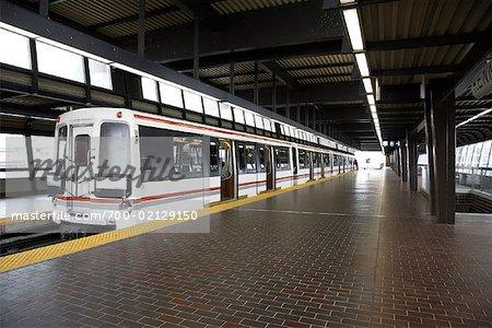 Subway in Station, Scarborough, Ontario, Canada