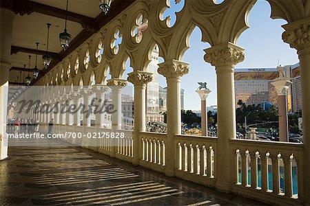 St Mark's Square, The Venetian Resort Hotel Casino, Paradise, Las Vegas, Nevada, USA